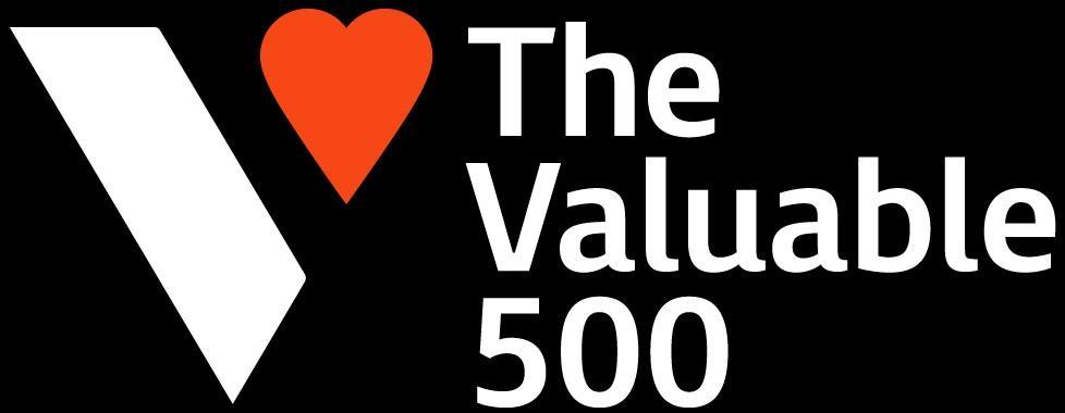 「The Valuable 500」ロゴ